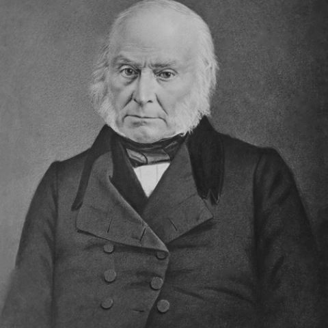 1800 - John Quincy Adams, later President of the United States