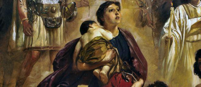 Einzug Alarichs in Rom