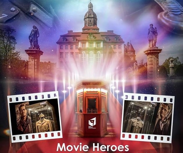 'Movie Heroes' exhibition