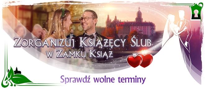 Zorganizuj wymarzone wesele w Zamku Książ