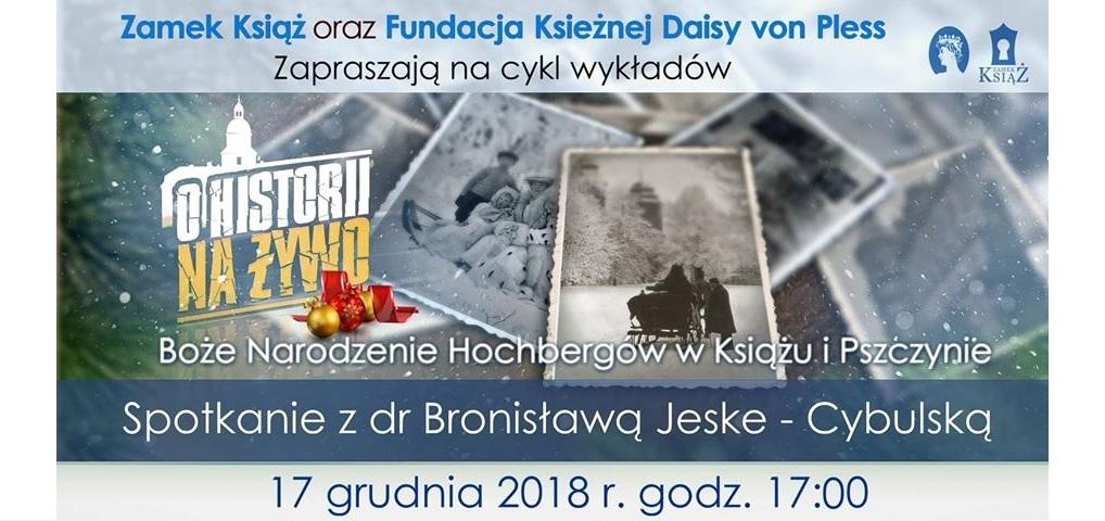 Boże Narodzenie Hochbergów – dr Bronisława Jeske - Cybulska