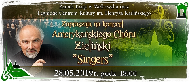 Koncert Chóru Zieliński Singers