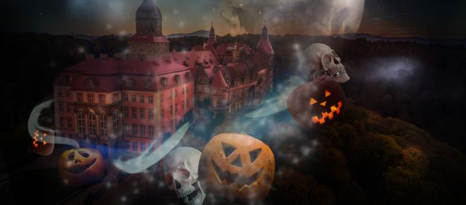 Halloween w Zamku Książ