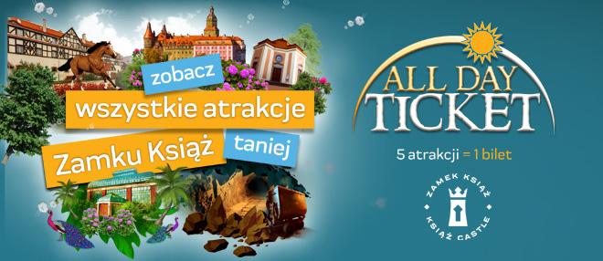 All Day Ticket - nowa oferta Zamku Książ