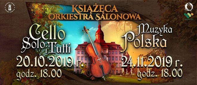 Książęca Orkiestra Salonowa - koncerty w październiku i listopadzie