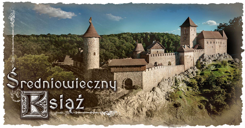 Średniowieczny Książ - makieta prezentująca zamek w XIV w.