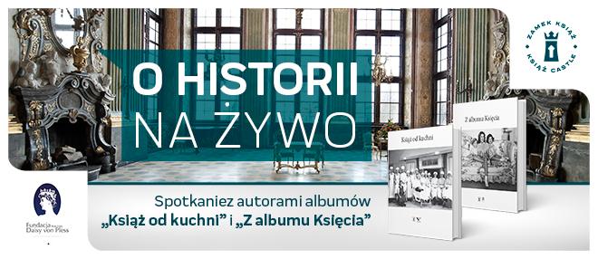 Spotkanie z autorami albumów Książ od kuchni. Z albumu Księcia