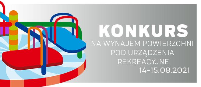 Konkurs na urządzenia rekreacyjne 14-15.08.2021